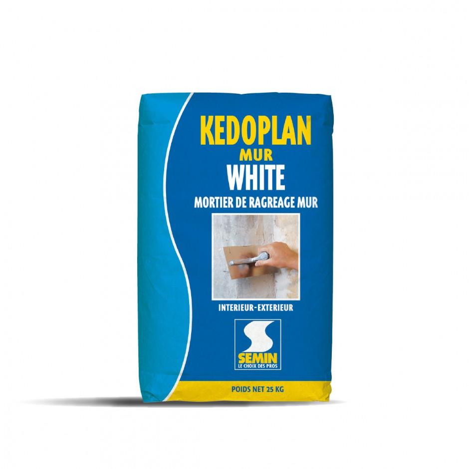 KEDOPLAN MUR WHITE